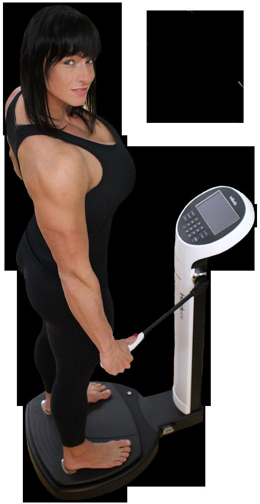 InBody mit Cindy Landolt Körperanalyse